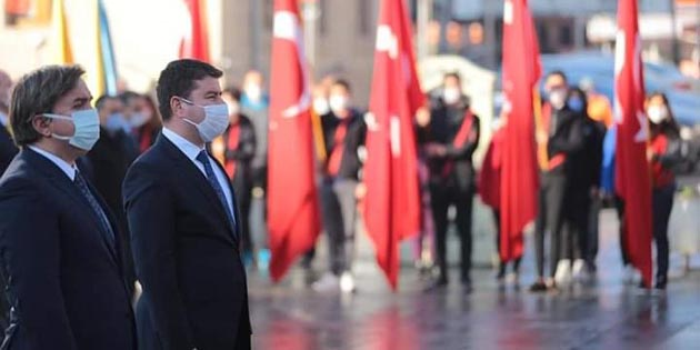 Aksaray'da Gazi Mustafa Kemal Atatürk özlemle anıldı