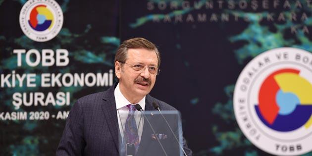 Ekonomi Şûrası'nda Aksaray'ın demiryolu ihtiyacı dile getirildi