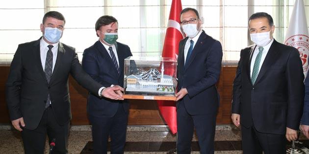 Gençlik ve Spor Bakanlığı'ndan Aksaray'a yatırım müjdesi