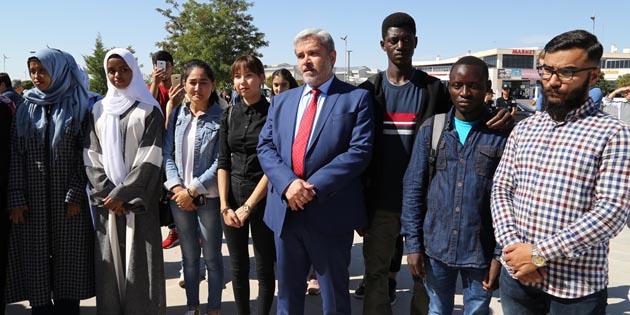 ASÜ'de uluslararası öğrenci sayısı zirveye çıktı