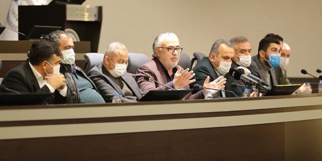 Aksaray STK'lardan ortak basın açıklaması