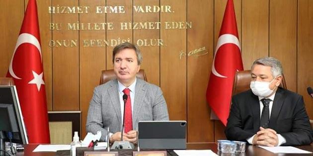 Aksaray İl Genel Meclisi'nden basın açıklaması