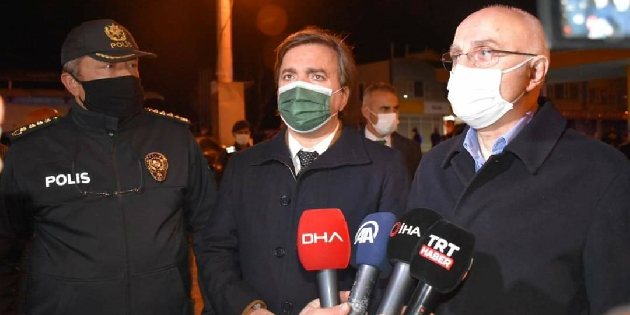 İçişleri Bakan Yardımcısı Aksaray'da uygulamaya katıldı