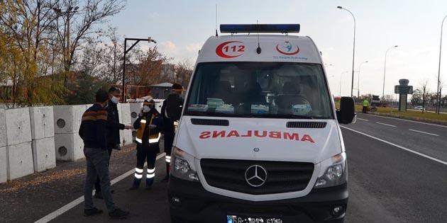 Test yaptırıp yola çıkan kardeşler Aksaray'da yakalandı