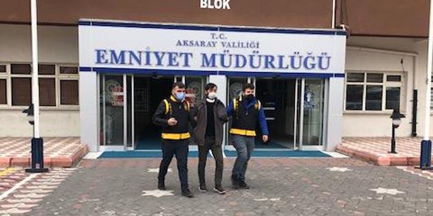 Aksaray'da hırsızlık yapan 3 şahıs tutuklandı