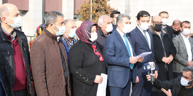 Aksaray AK Parti'den suç duyurusu