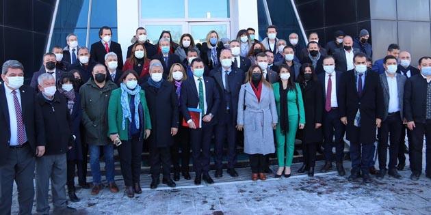 CHP 20 Milletvekili ile Aksaray'da