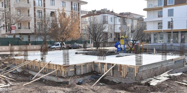 Kitap konaklarında inşaat çalışmaları devam ediyor