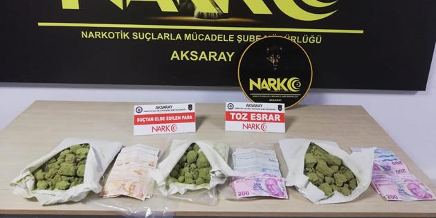Aksaray'da uyuşturucu satıcılarına operasyon