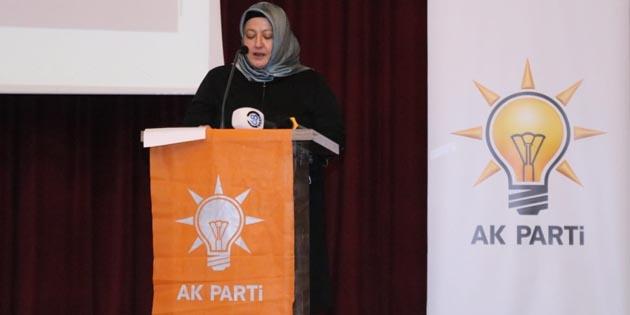Ak Parti Kadın Kolları Başkanı Ferhan Polat güven tazeledi