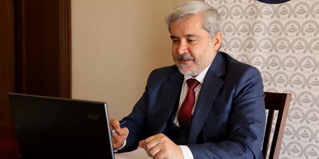 Rektör Şahin, Dönüşen Dünyada Liderler Çalıştayı'na katıldı
