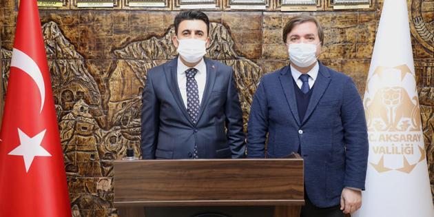 Nüfus ve Vatandaşlık İşleri Genel Müdürü Şefik Aygöl Aksaray'da