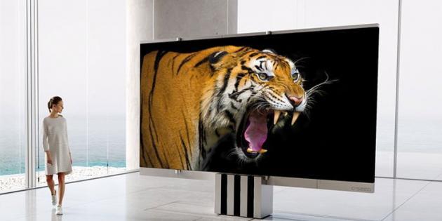 165 İnçlik Katlanabilir Dev Televizyon Satışa Çıktı