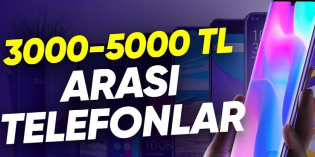 3000-5000 TL Arasında En İyi Akıllı Telefonlar (Şubat 2021)