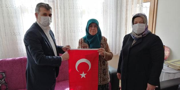 Ak Parti heyeti Şehit Ailelerini ziyaret etti
