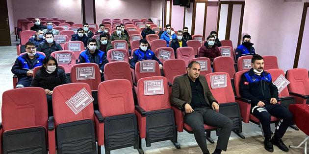 Aksaray Zabıta memurlarına oryantasyon eğitimi