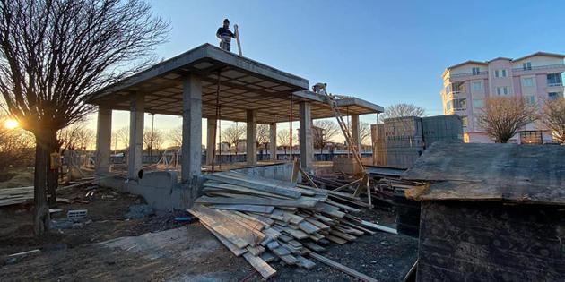 Aratol Mahallesi'ne Taziye Evi yapılıyor