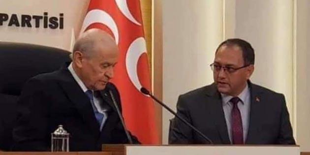 Aksaray MHP: Devlet Bahçeli'nin yanındayız!