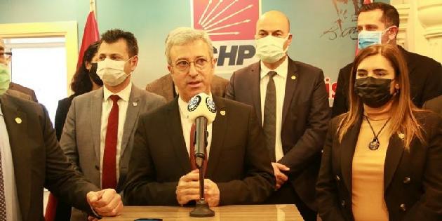 CHP'li vekil demiryolu için önerge verdi