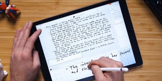 IPad ve Apple Pencil için En İyi Not Alma Uygulamaları