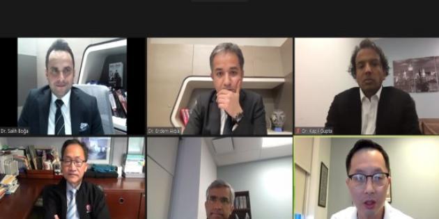 Memorial & Cedars Sinai ileri endoskopi toplantısı dijital ortamda gerçekleşti