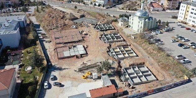 'Sevgi Evleri' projesinde inşaat çalışmaları hızla devam ediyor