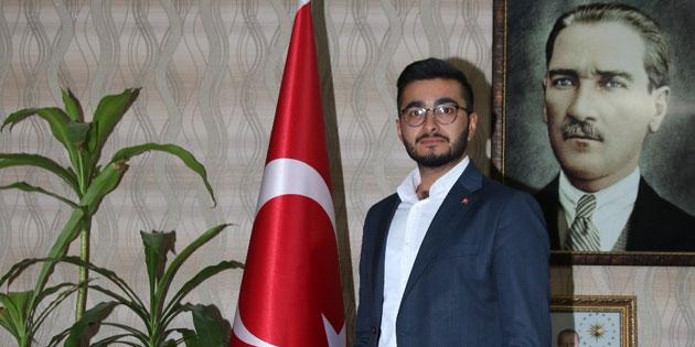 AK Parti Aksaray Gençlik Kolları Başkanı'ndan teşekkür