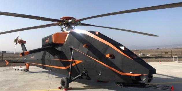 TUSAŞ'ın Elektrikli ve İnsansız Helikopterinden İlk Görüntü