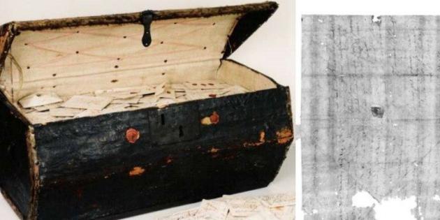300 Yıllık Mektup Sanal Olarak Açılıp Okundu