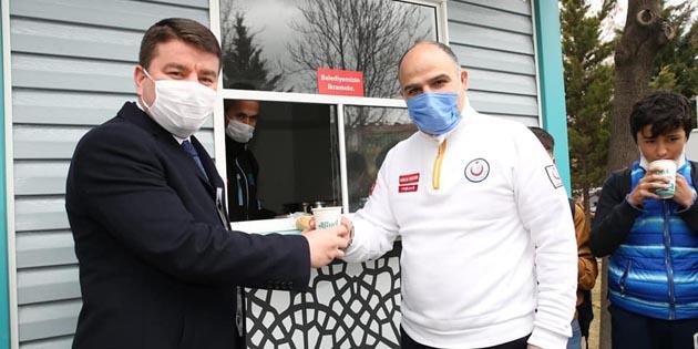Başkan Dinçer sağlık çalışanlarının Tıp Bayramını kutladı