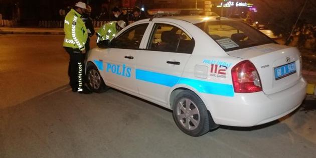 Kısıtlamada alkollü araç kullanan sürücüye ceza