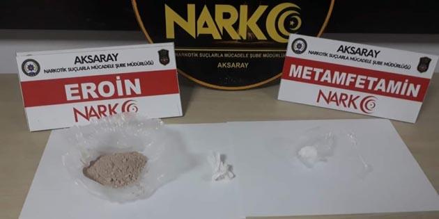 Aksaray'da uyuşturucu taciri 3 kişi tutuklandı!
