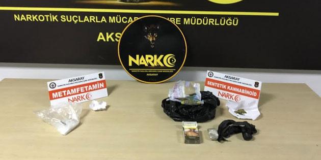 Aksaray'da uyuşturucu tacirlerine darbe: 6 tutuklama!