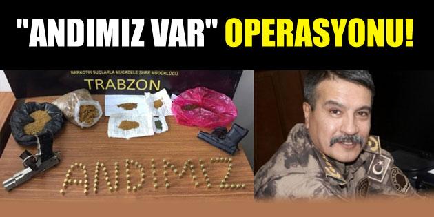 Aksaraylı Emniyet Müdürü Metin Alper'den Andımız operasyonu!