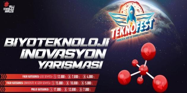 Biyoteknoloji inovasyon ile buluşuyor, gençler Türkiye için üretiyor
