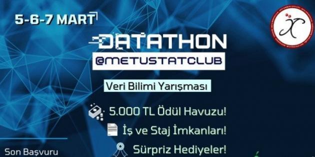 Datathon@METUSTATCLUB İçin Geri Sayım Başladı