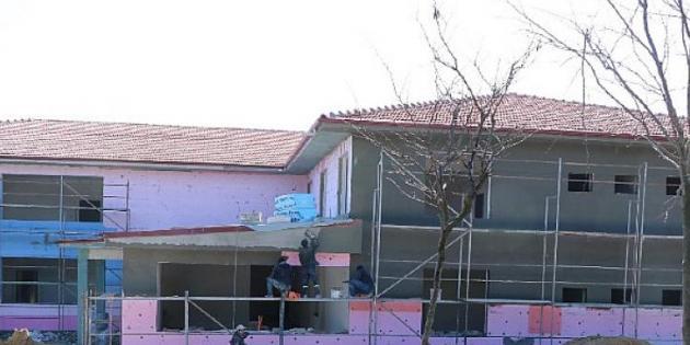 GEBKİM Anaokulu inşaatı son sürat devam ediyor