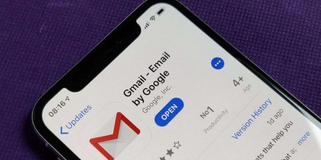 Gmail'in iOS Uygulaması 3 Ay Sonra İlk Kez Güncellendi