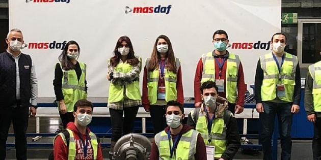 Masdaf, Yıldız Talks'ta YTÜ Öğrencilerine Pompa Teknolojilerini Anlattı