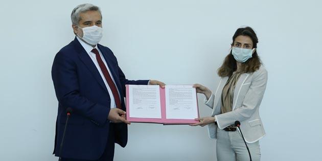 Proje desteği alan araştırmacılarla protokol imzalandı