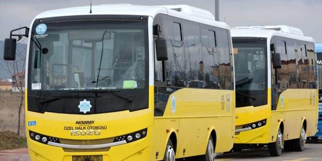 Aksaray'da toplu taşımada nakit ödeme uygulaması kalkıyor