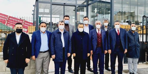 Ak Parti Aksaray heyeti ilçeleri ziyaret etti
