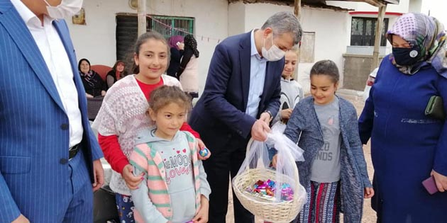 AK Parti'den vatandaşa Ramazan ziyareti