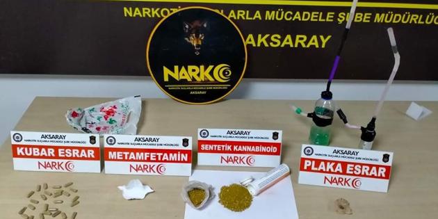 Aksaray'da uyuşturucu tacirlerine darbe: 5 tutuklama!