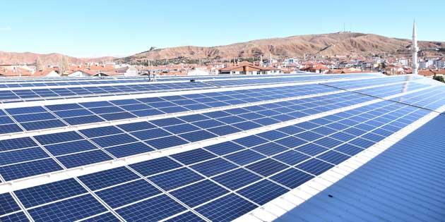 Aksaray Belediyesi enerji üretiyor