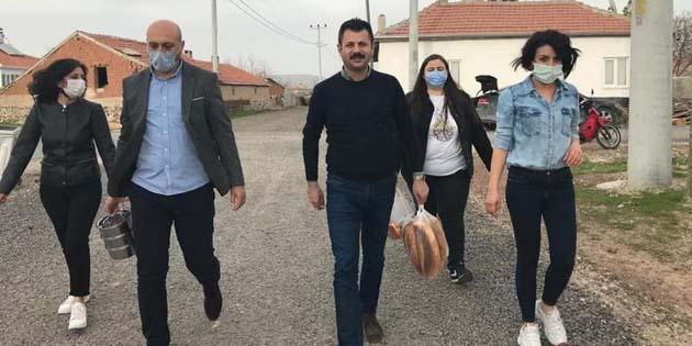 CHP teşkilatı vatandaş ziyaretinde