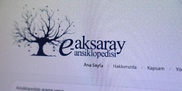e-Aksaray Ansiklopedisi yayında