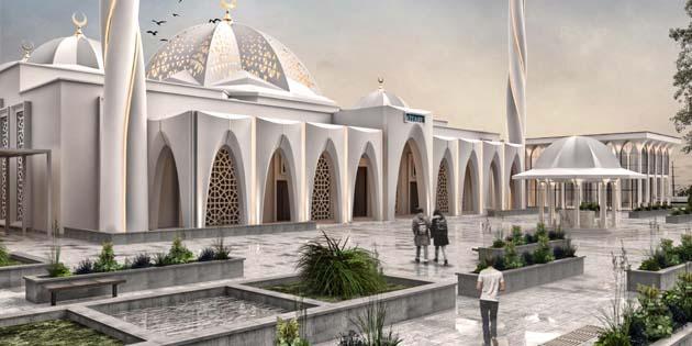 Şehrin merkezine dev Külliye Projesi