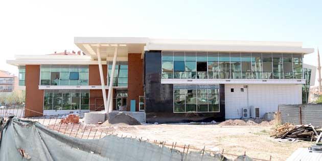 Nakkaş Kadın Aktivite Merkezi açılışa hazırlanıyor