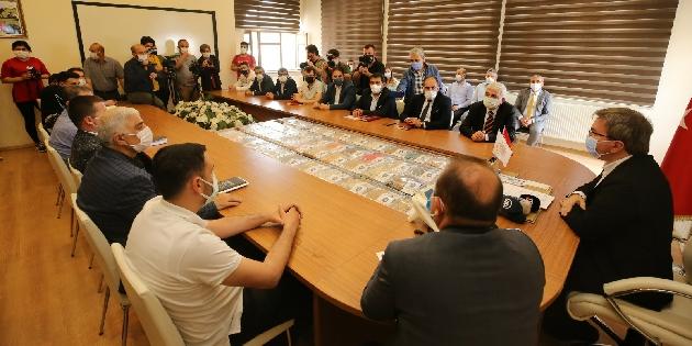 Aksaray'da yerel üreticilere önemli destek